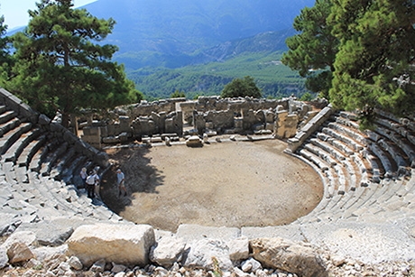 Arykanda - discover ancient sites guided walking holiday