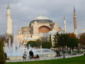 ISTANBUL HAGIA SOPHIA ON A CITY BREAK