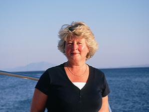 Jenny Day,owner DayDreams Travel, an expert in Turkish gulets and bespoke travel to Turkey