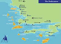 THE DODECANESE – northern route
